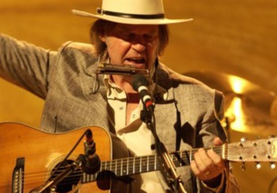 Legendary rocker Neil Young