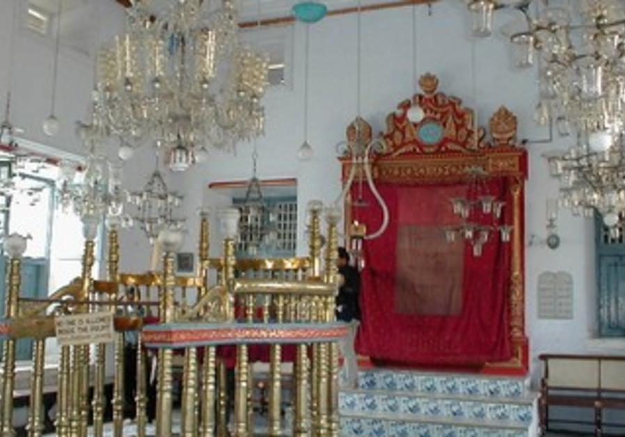 Paradesi Synagogue in Kochi, Kerala