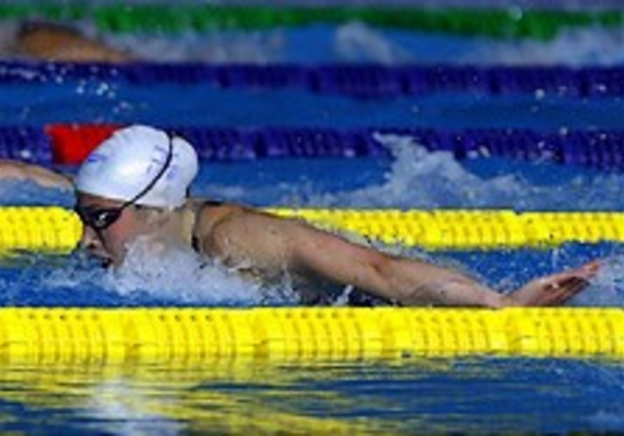 Swimming: Ivri sets butterfly record at nationals