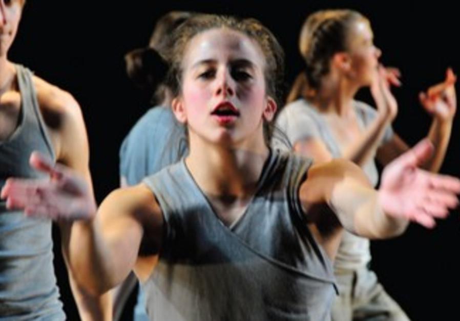 Jerusalem dance students