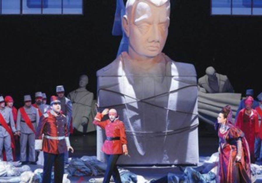 Israel Opera production of Verdi's 'A Masked Ball.'