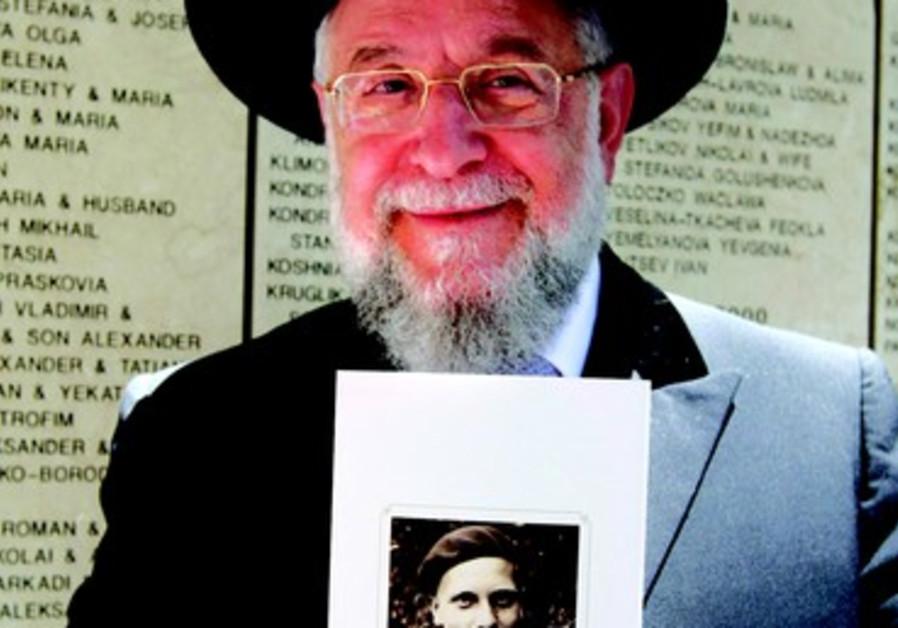 Grand Rabbin Israel Meir Lau