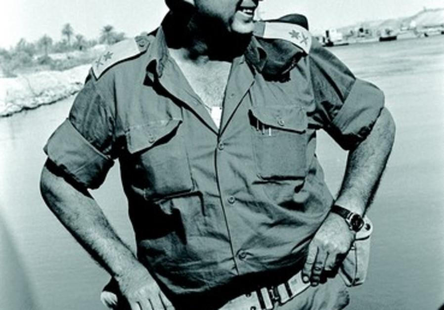 Le Général Ariel Sharon en 1973