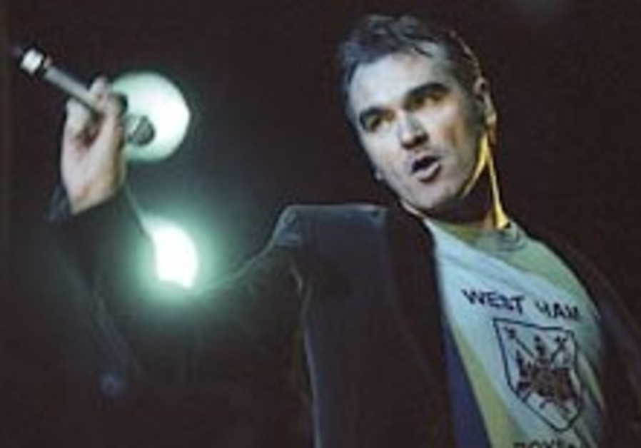 Singer Morrissey: Those who criticize Israel are 'jealous'