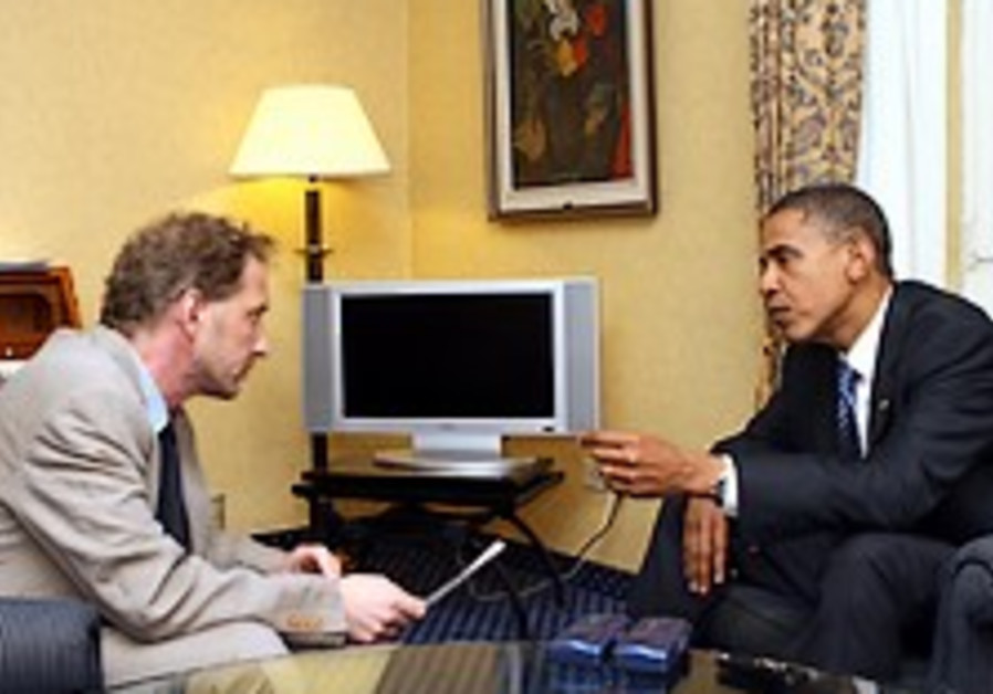 Obama sets out his Israel vision in 'Post' interview