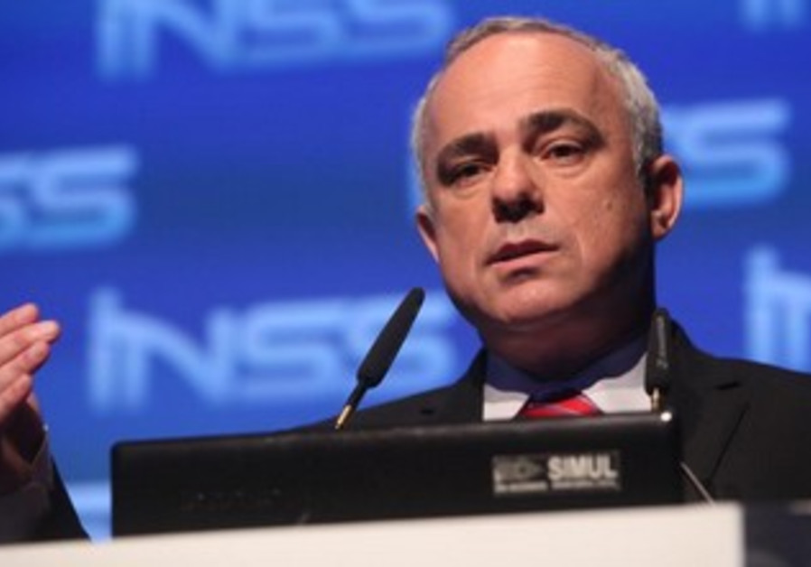 Minister of Strategic Affairs Yuval Steinitz