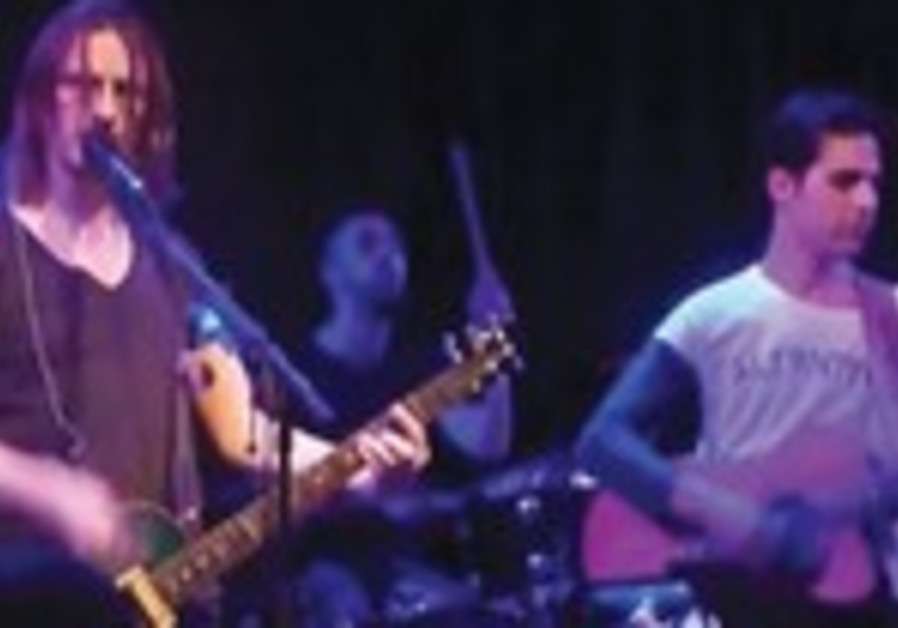 Steven Wilson (L) and Aviv Geffen of Blackfield