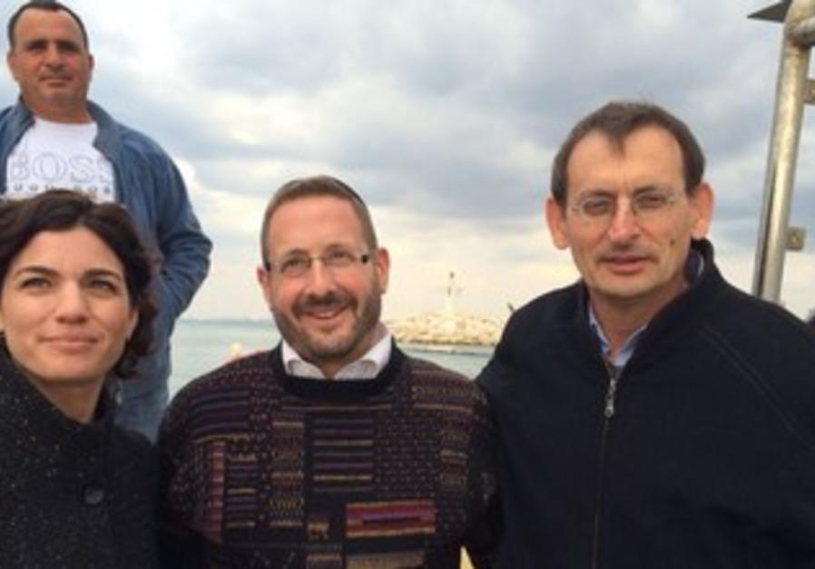Fisherman David Davidovich, Tamar zandberg, Dov Lipman, Dov Henin