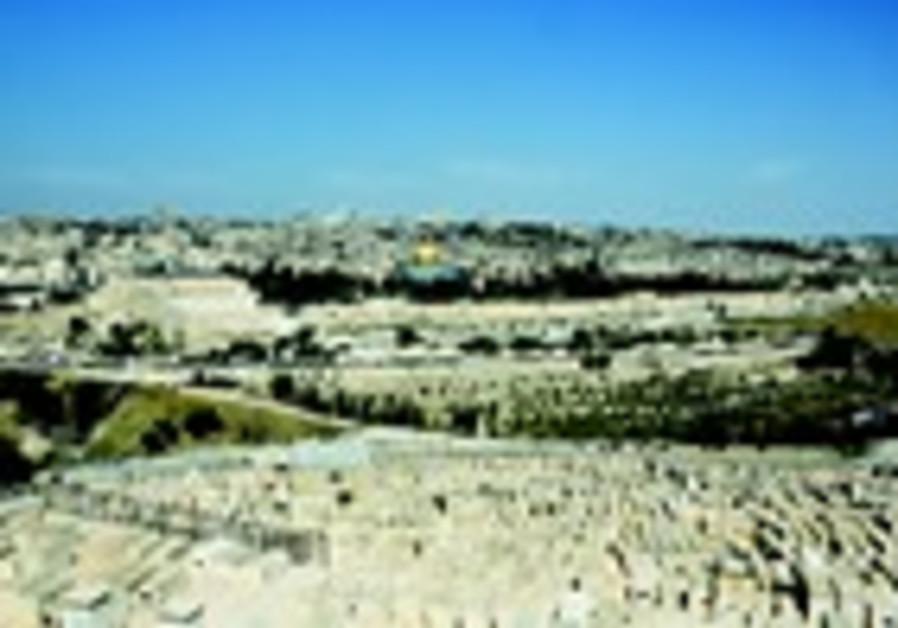 Le mont des Oliviers a Jerusalem