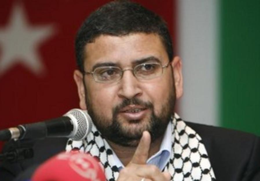 Hamas spokesperson Sami Abu-Zuhri