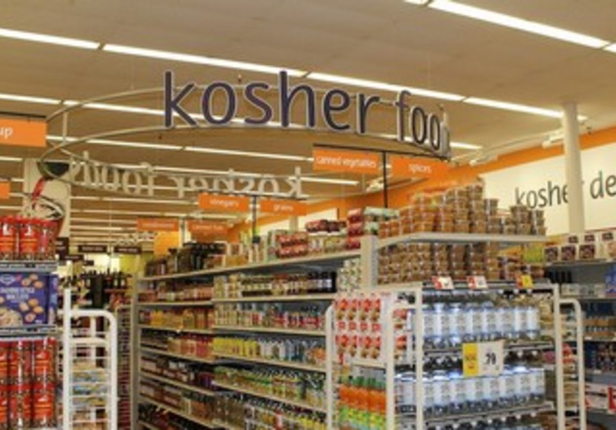 The kosher section at Winn-Dixie's Boca Raton store