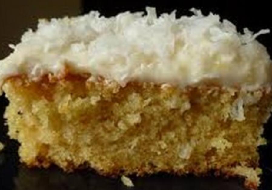Dreamy coconut cake