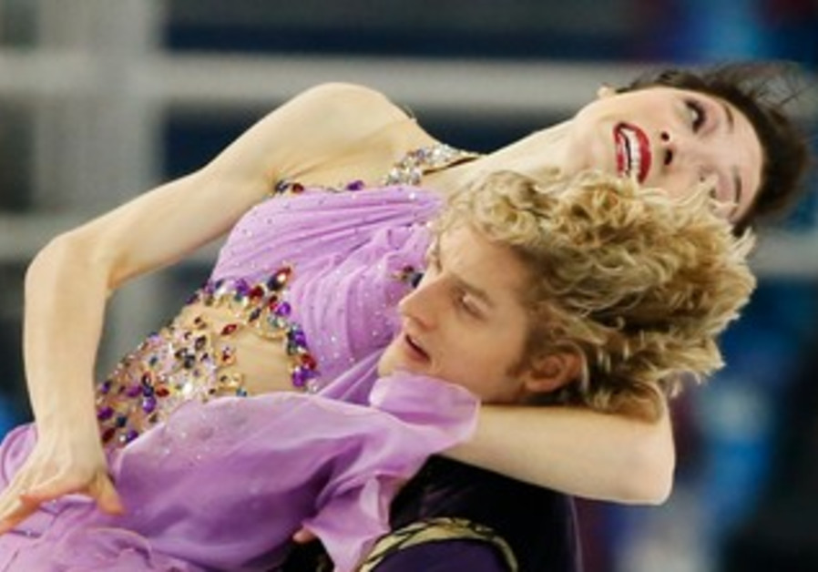 Meryl Davis and Charlie White, February 17, 2014