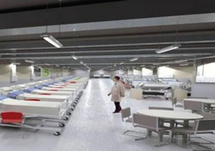 Rambam hospital to be moved underground