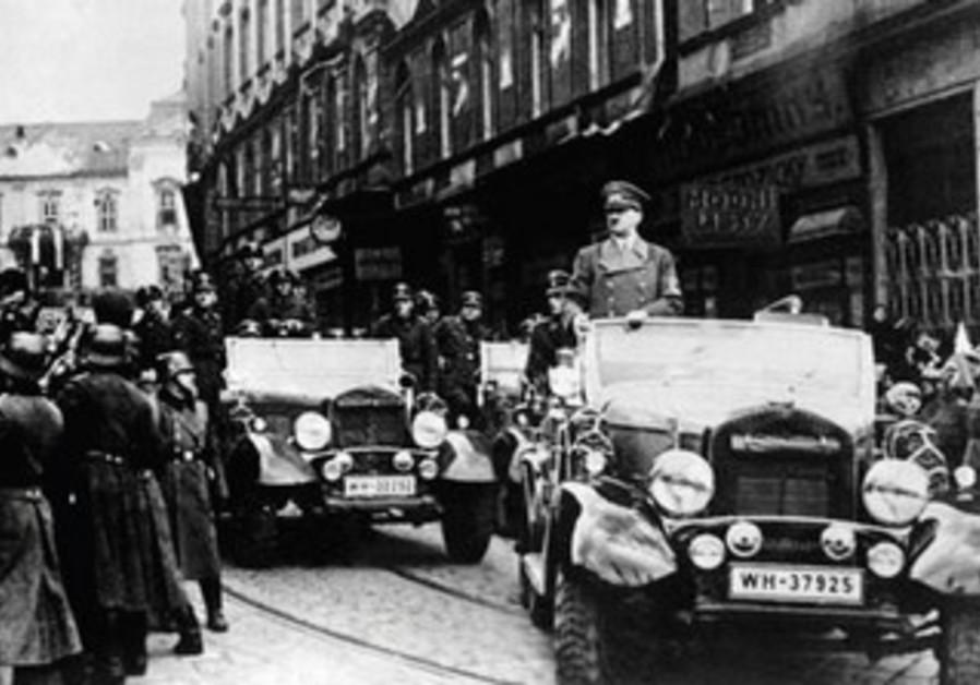 Hitler in Prague
