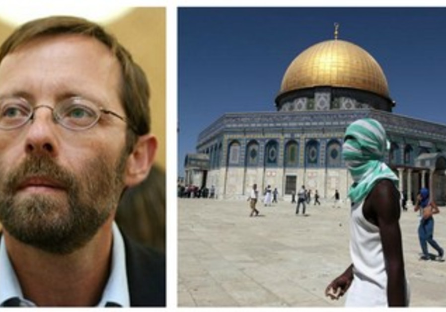 Likud MK Moshe Feiglin wants to cause a stir on Temple Mount