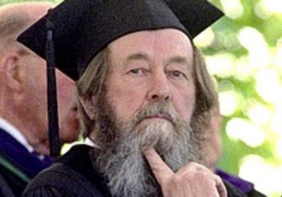Sharansky hails late author Solzhenitsyn