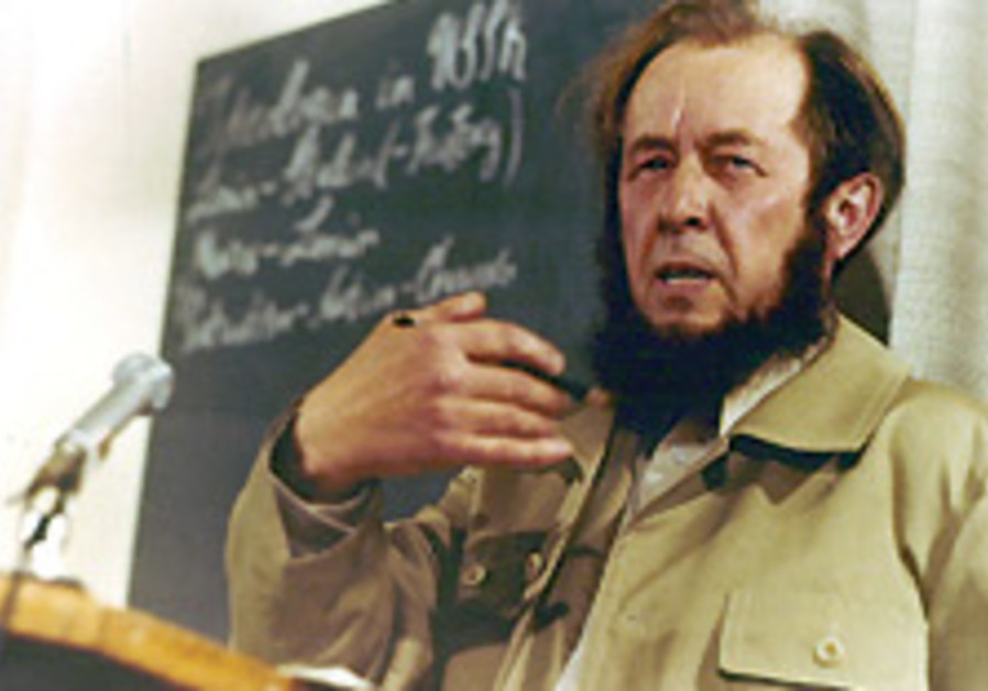 Days in the life of Alexander Solzhenitsyn