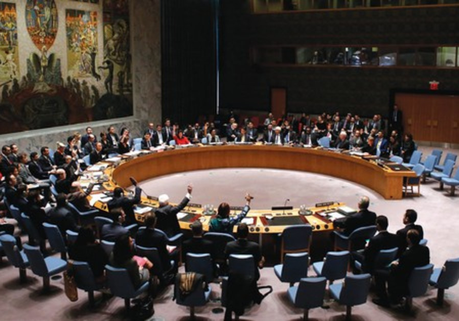 There could well be international intervention through a new UN Security Council resolution