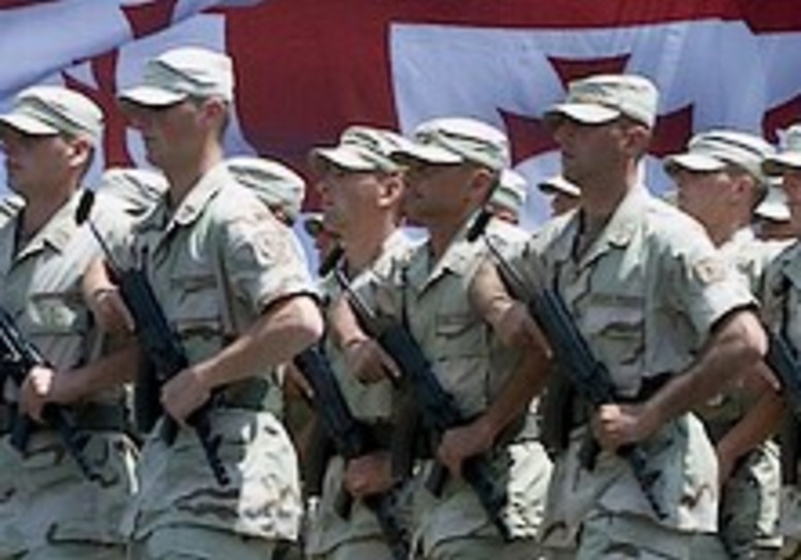 Israel cuts defense sales to Georgia