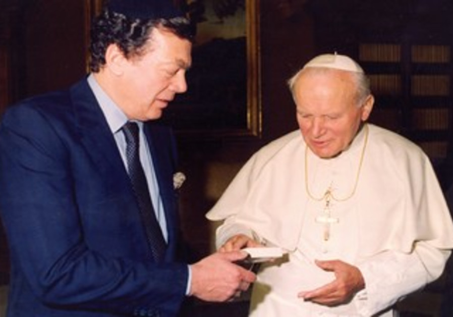 Bronfman and Pope