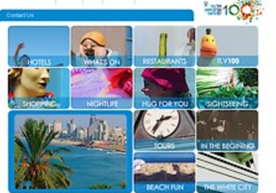 Tel Aviv launches English web portal for tourists