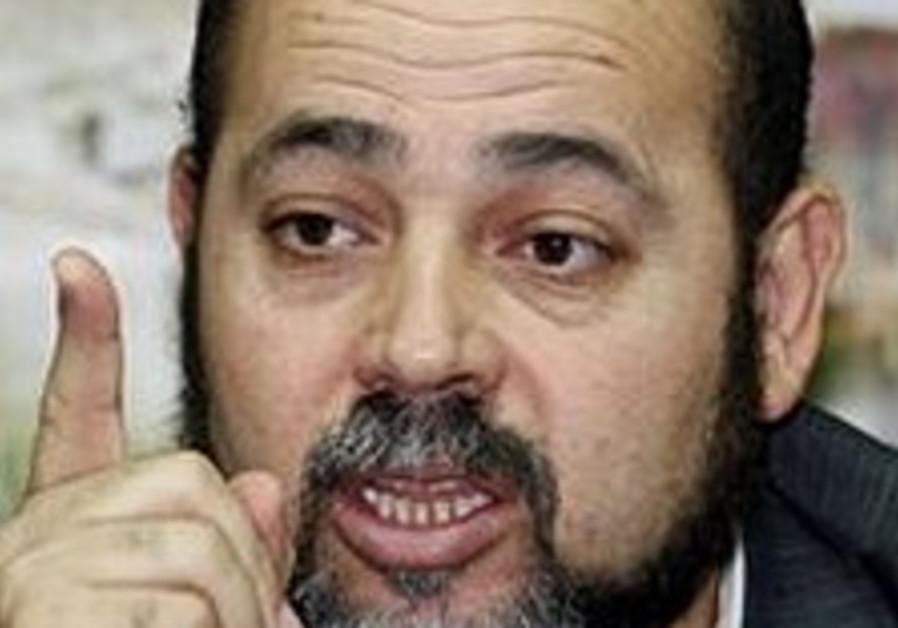 Hamas: Truce won't include Schalit