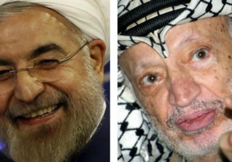 Iran Rouhani Arafat