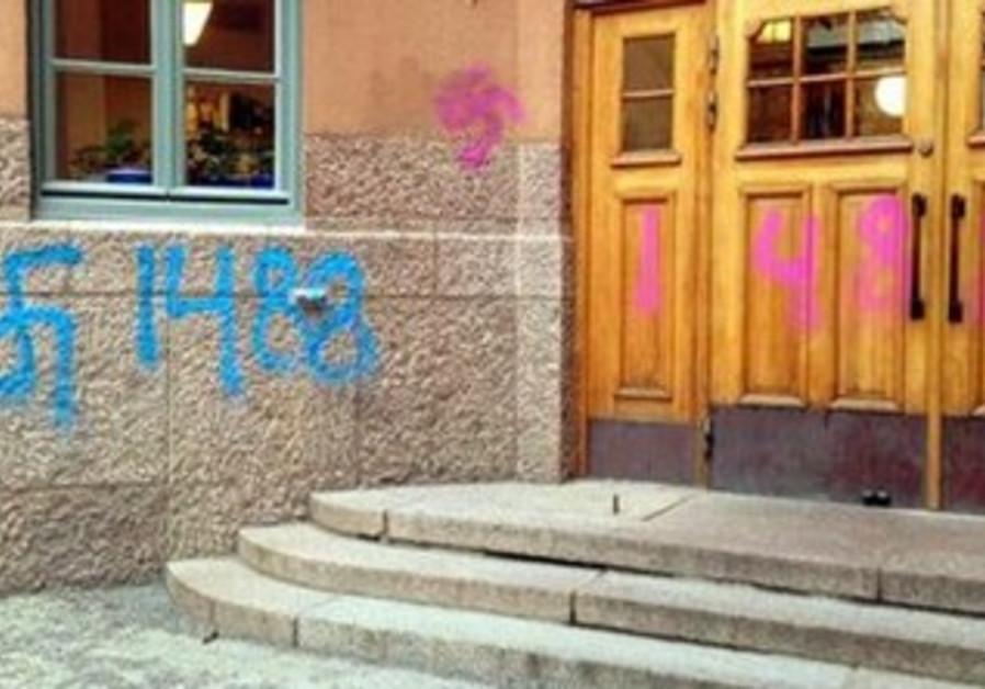 nazi vandalism