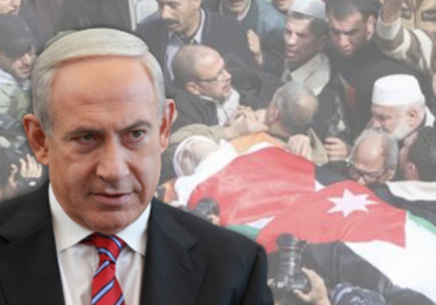 Netanyahu expresses regret for killing of Jordanian judge