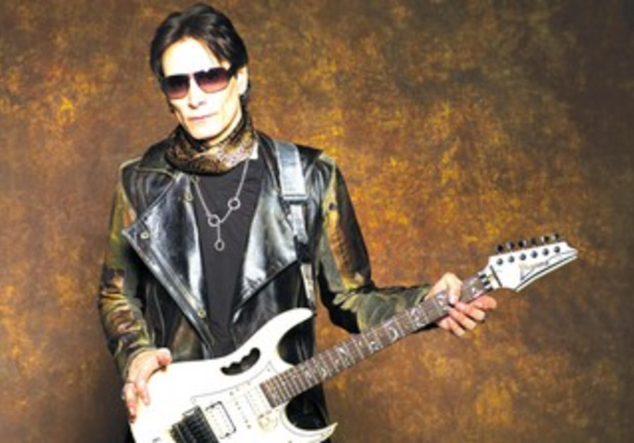 Rock guitarist Steve Vai