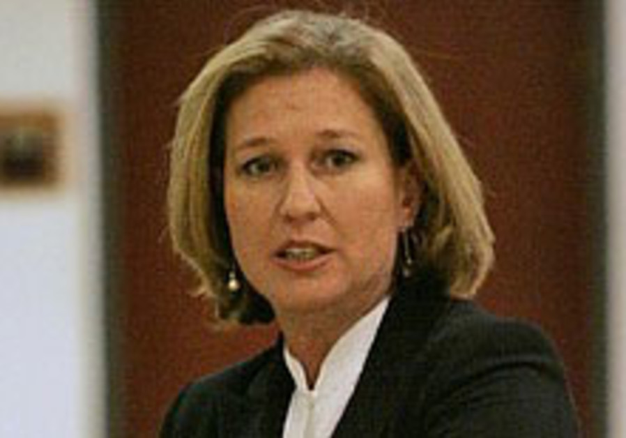 Livni: Turkey has to choose a side