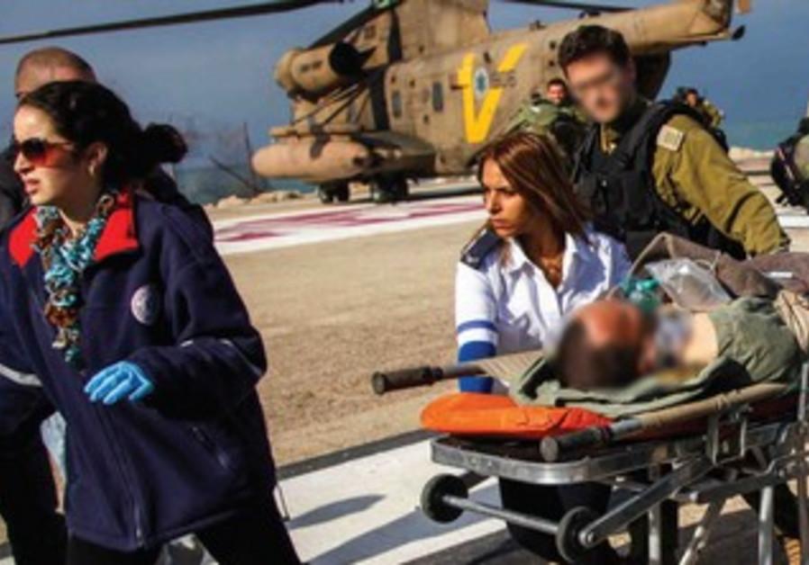 Israel's medical teams