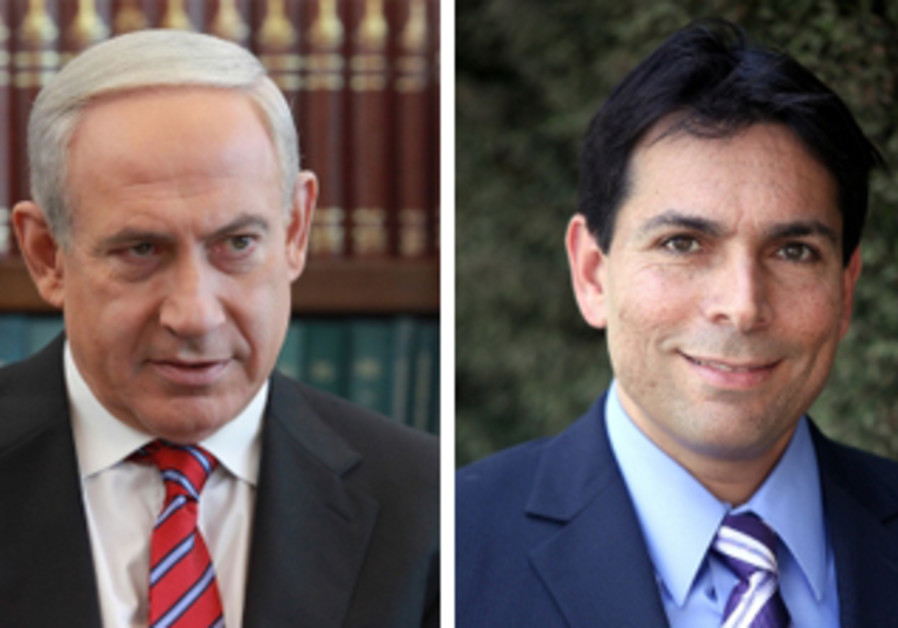 Netanyahu and Danon