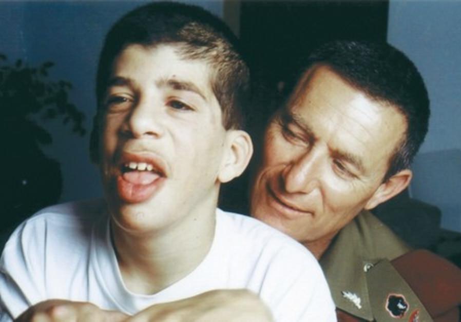 Doron Almog and his son Eran