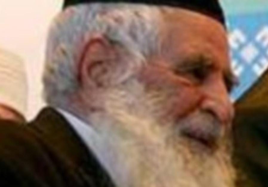 Iran chief rabbi