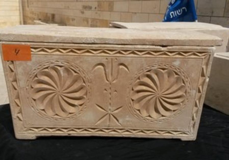 ancient coffins