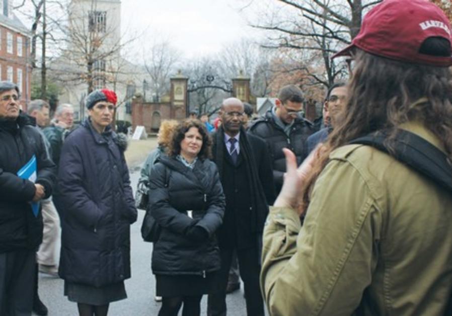 Israeli MKs visit Harvard Hillel.