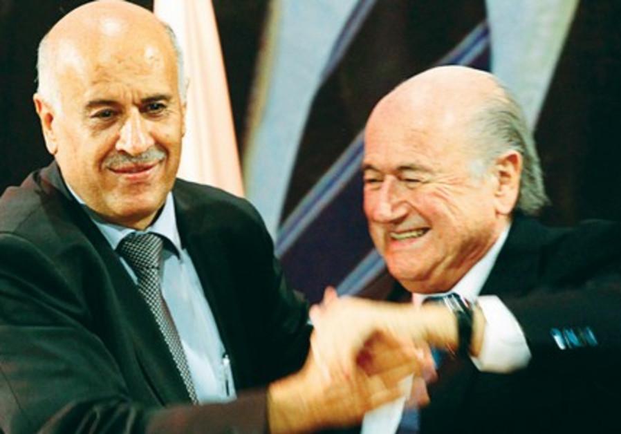 Rajoub and Blatter