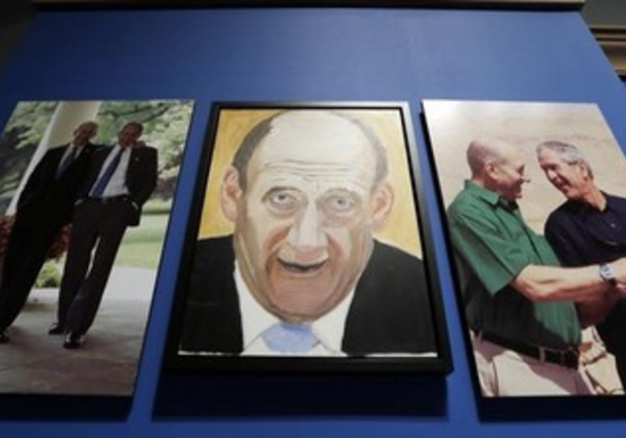 George W. Bush Ehud Olmert