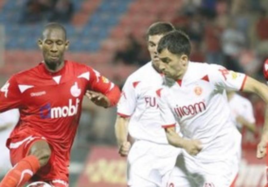 Hapoel Beersheba striker Glynor Plet