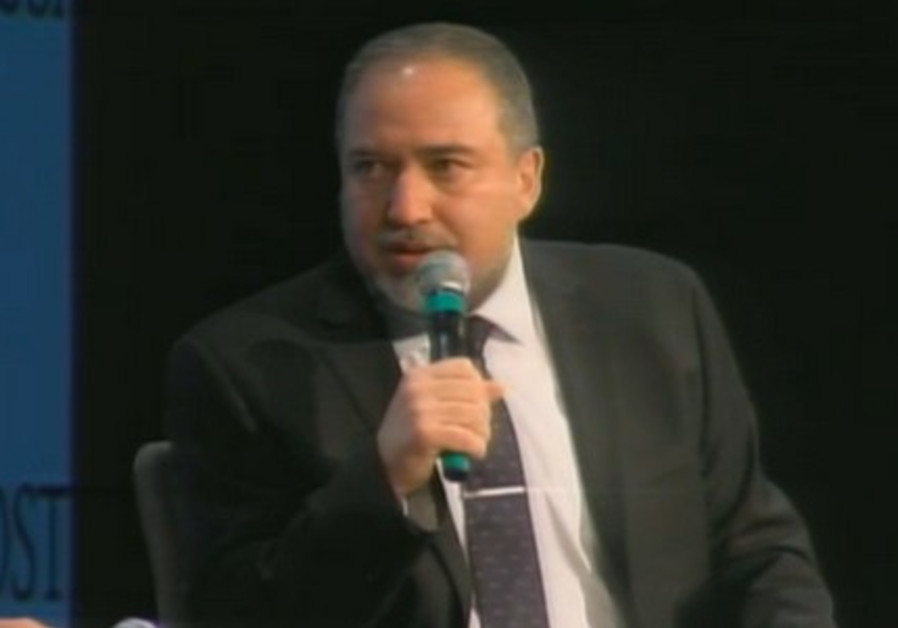 Foreign Minister Avigdor Liberman.