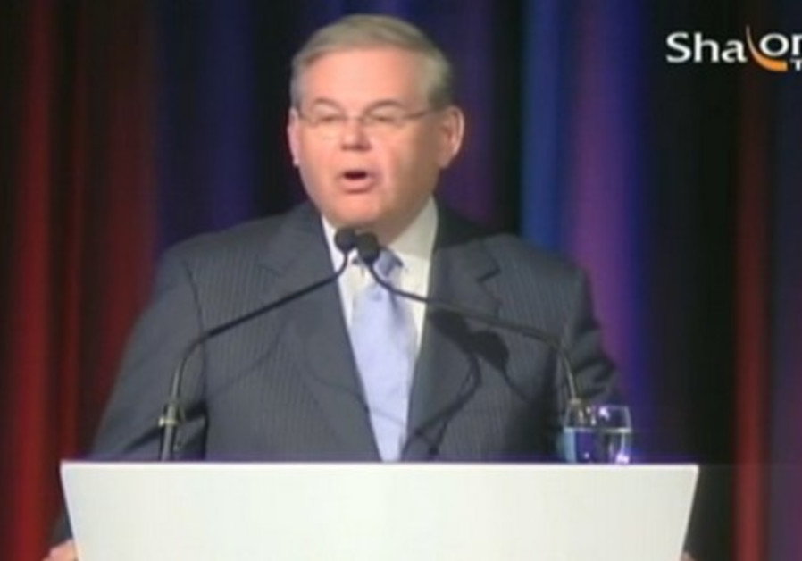 Senate Foreign Relations Committee Chairman Robert Menendez.