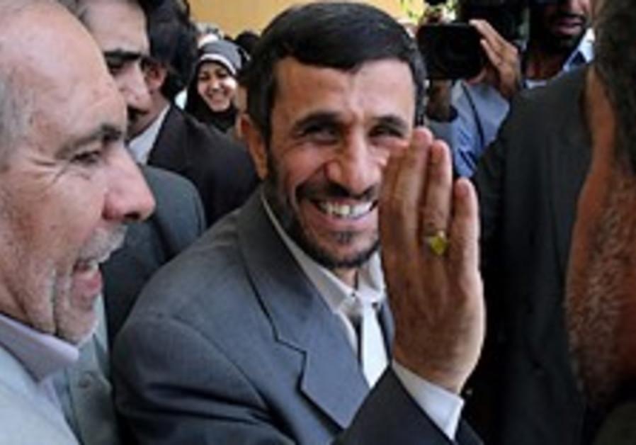 Ahmadinejad and Hitler exhibit banned