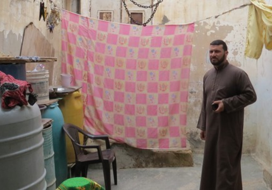 Sheikh Adnan, resident of Gaza refugee camp