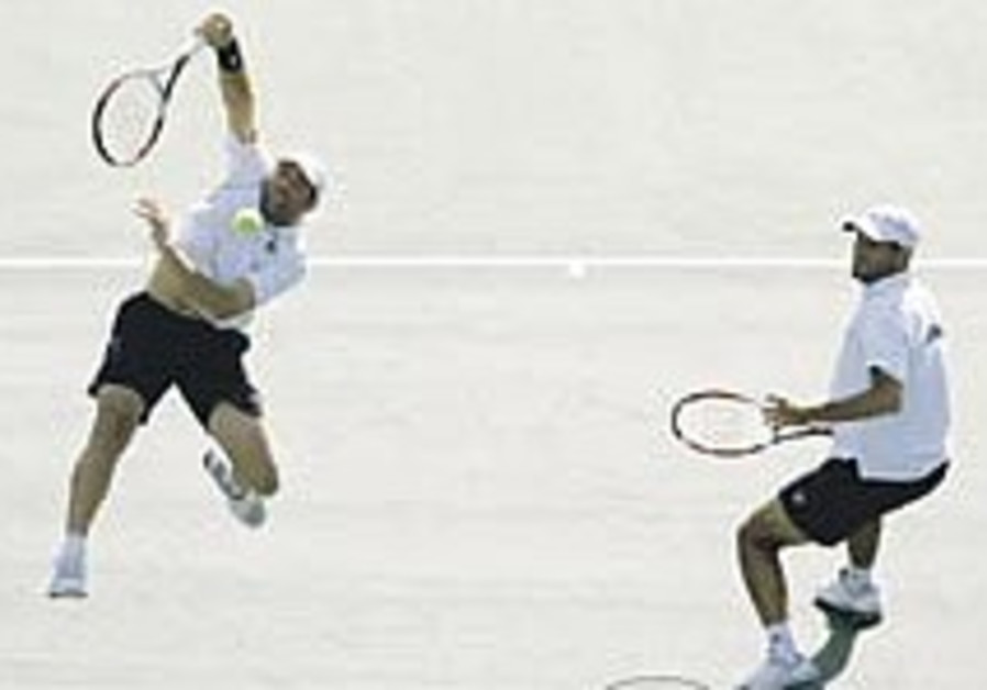 Israelis crash out of Olympic tennis