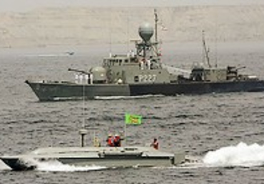 Iran readies for naval drill
