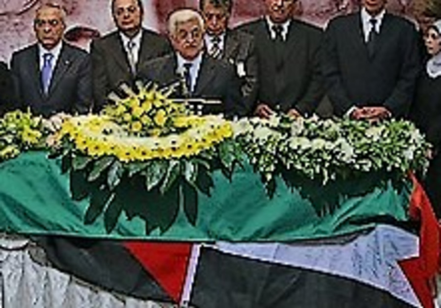 PA holds 'state' funeral for poet Darwish in Ramallah