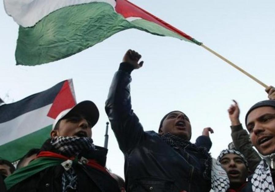Palestinian protest Berlin