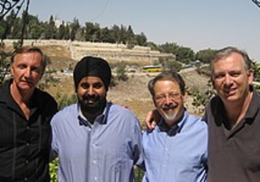 The multi-faith contingent